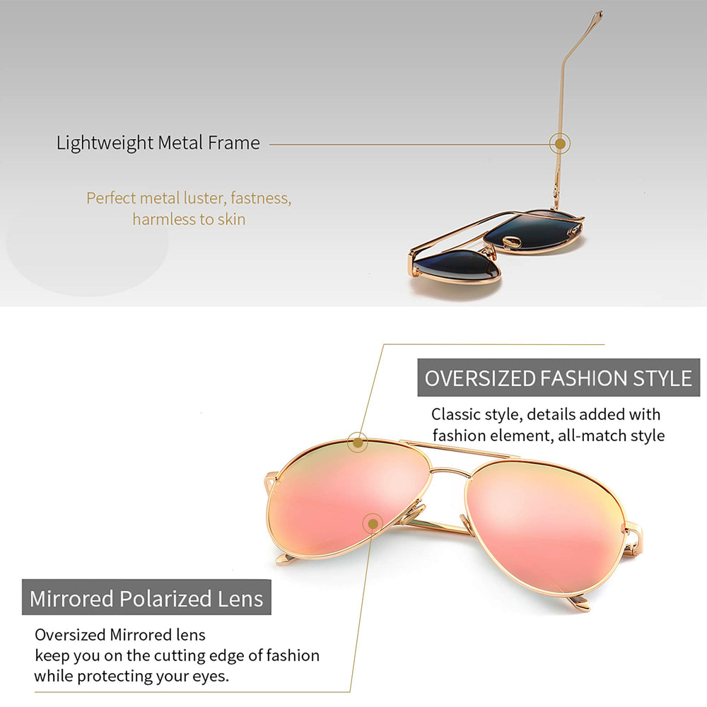 SUNGAIT Women Lightweight Sunglasses