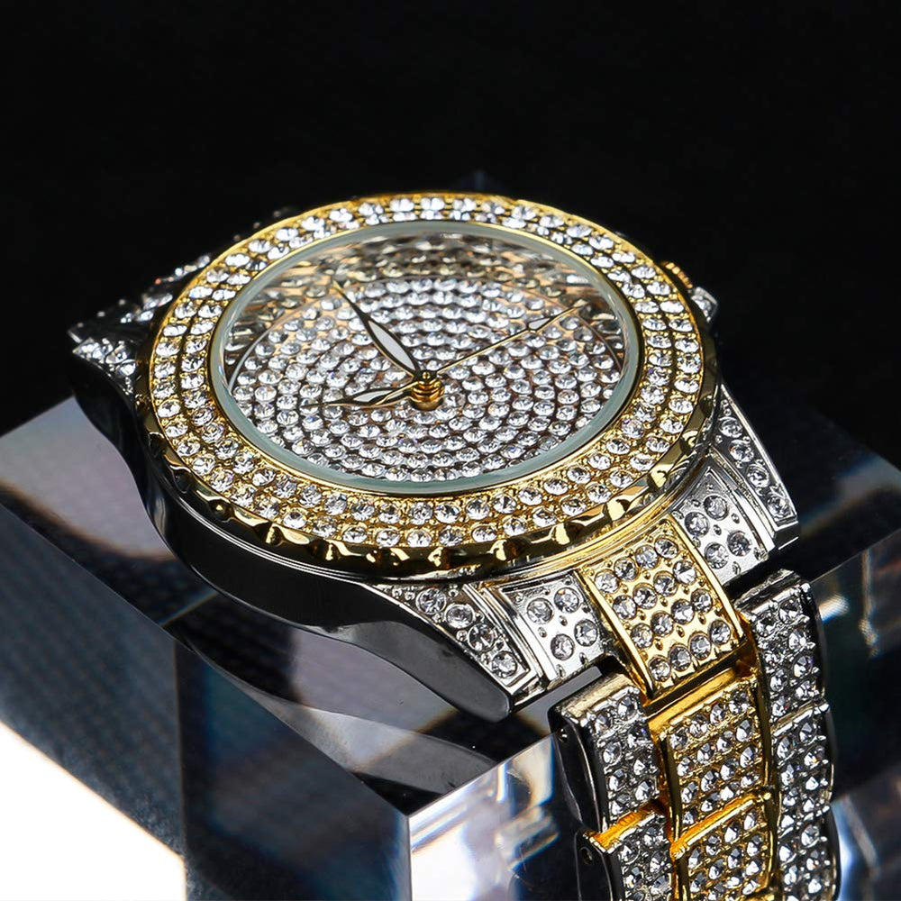 Women Waterproof Crystal Rhinestone Diamond Watch - Shade & watches