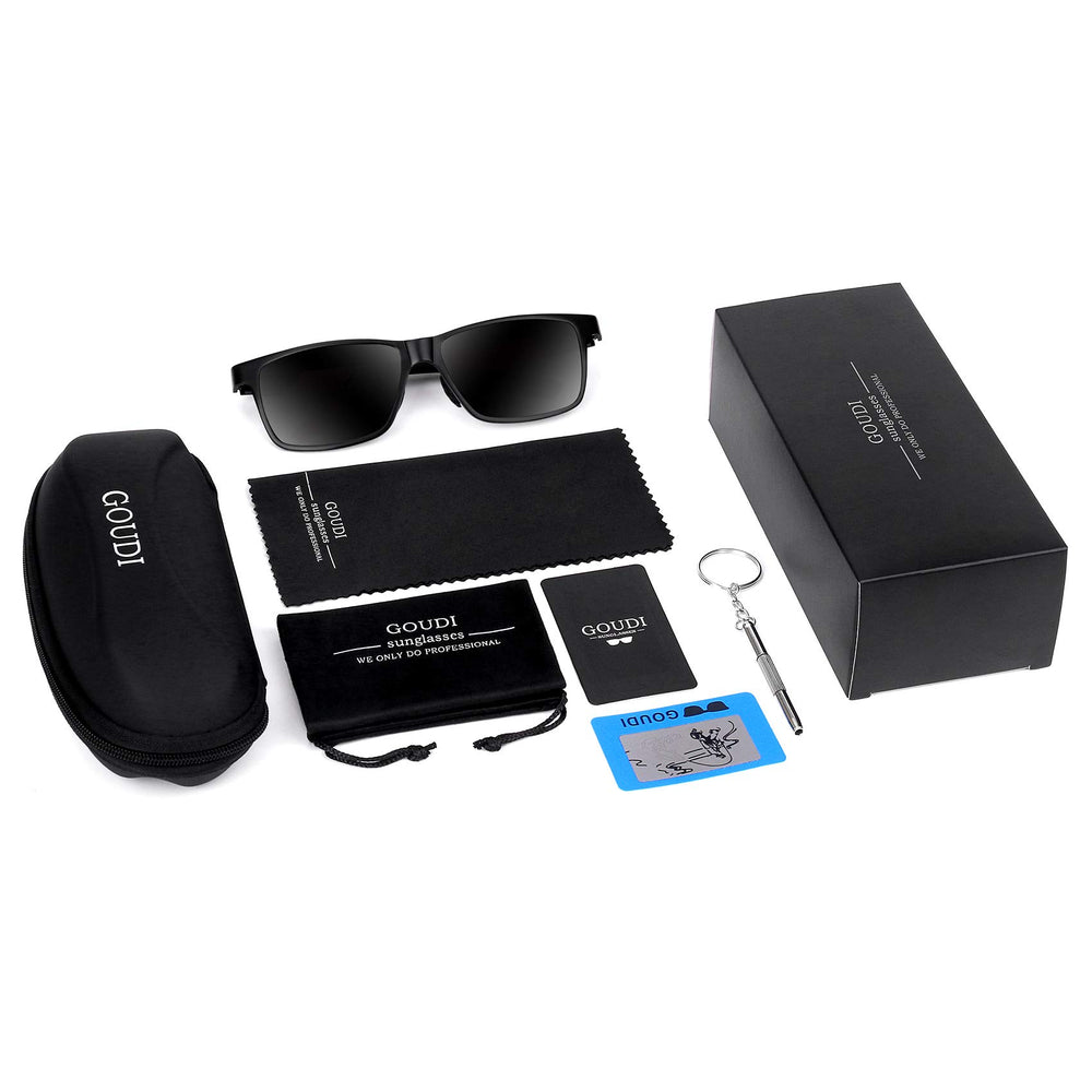 GOUDI -Men's Polarized Driving Sunglasses