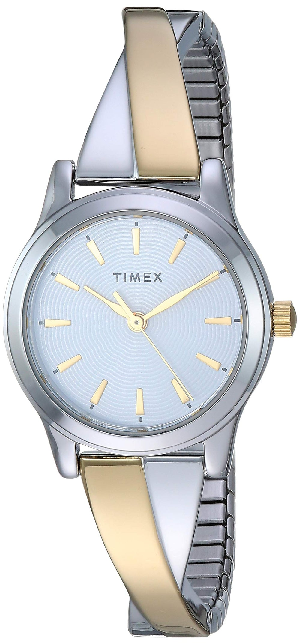 Timex Women Stretch Bangle Watch - Shade & watches
