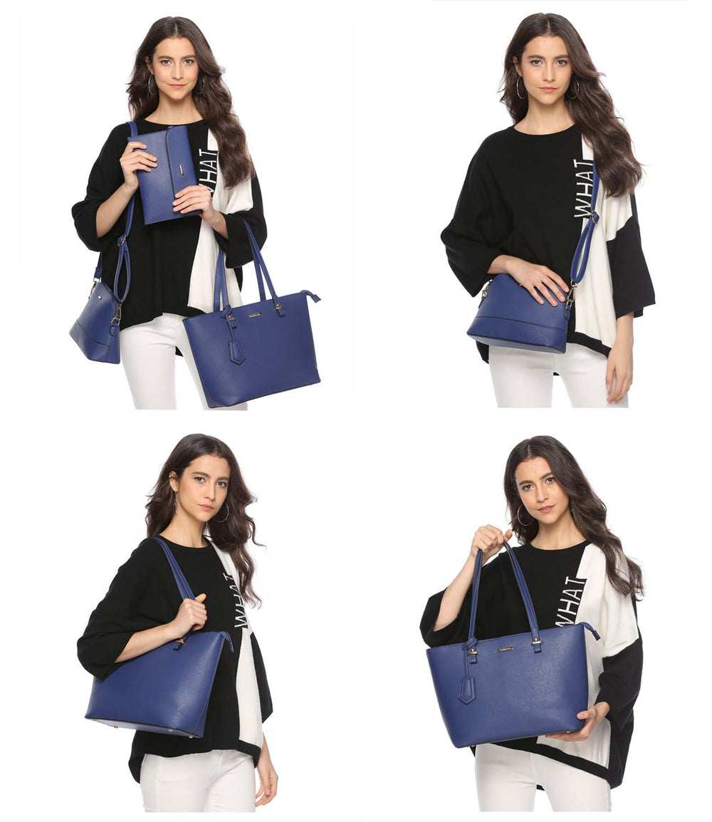 ELIMPAUL Women Fashion Tote Shoulder Bag - Shade & watches