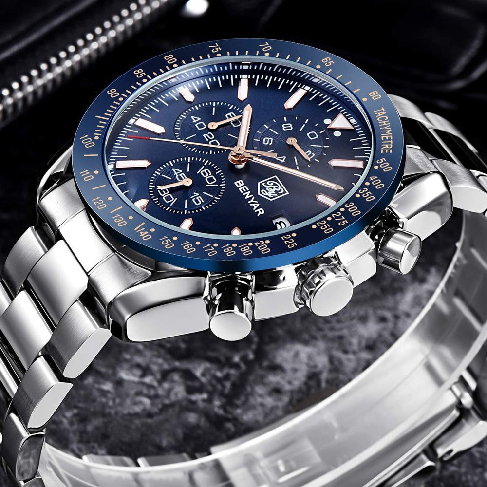 Men's Waterproof Chronograph Business Watch - Shade & watches
