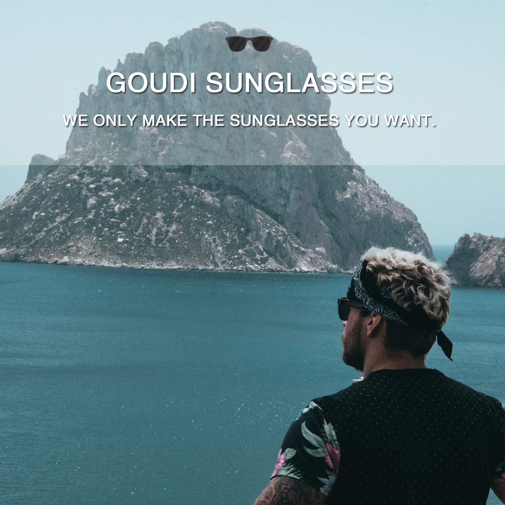 GOUDI -Men's Polarized Driving Sunglasses - Shade & watches