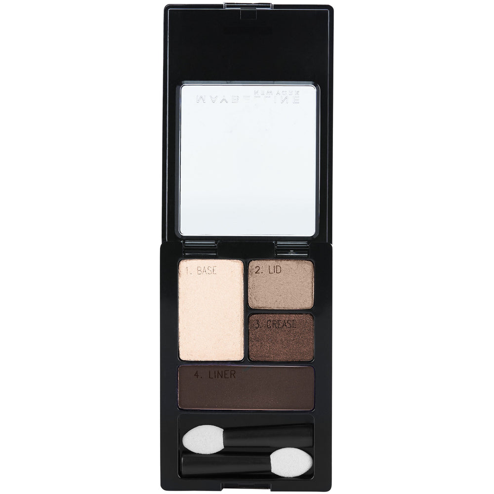 NY Expert Wear Natural Smoke Eyeshadow - Shade & watches