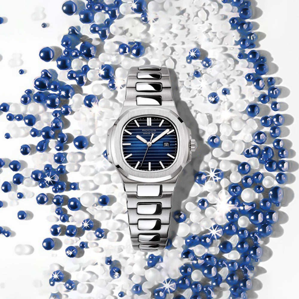 Women Japanese Quartz Movement Blue Dial watch - Shade & watches