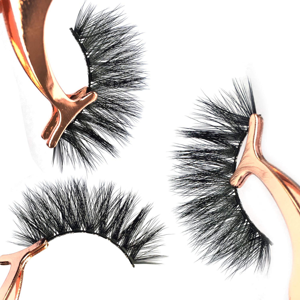 Eyelashes Fluffy 3D Lashes Pack Of 5 Pairs
