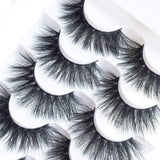 Eyelashes Fluffy 3D Lashes Pack Of 5 Pairs - Shade & watches