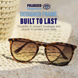 Women designer Polarized vintage Sunglasses