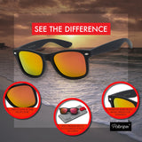 Men's Polarized 80's Classic Style Sunglasses - Shade & watches