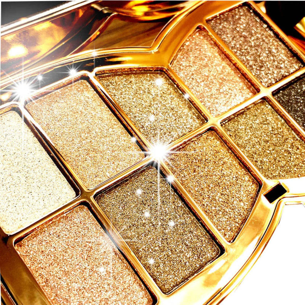 10 Colors Sparkle Shimmer & Eyeshadow