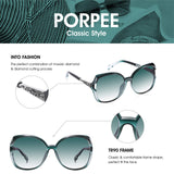 PORPEE Polarized Sunglasses for Women - Shade & watches