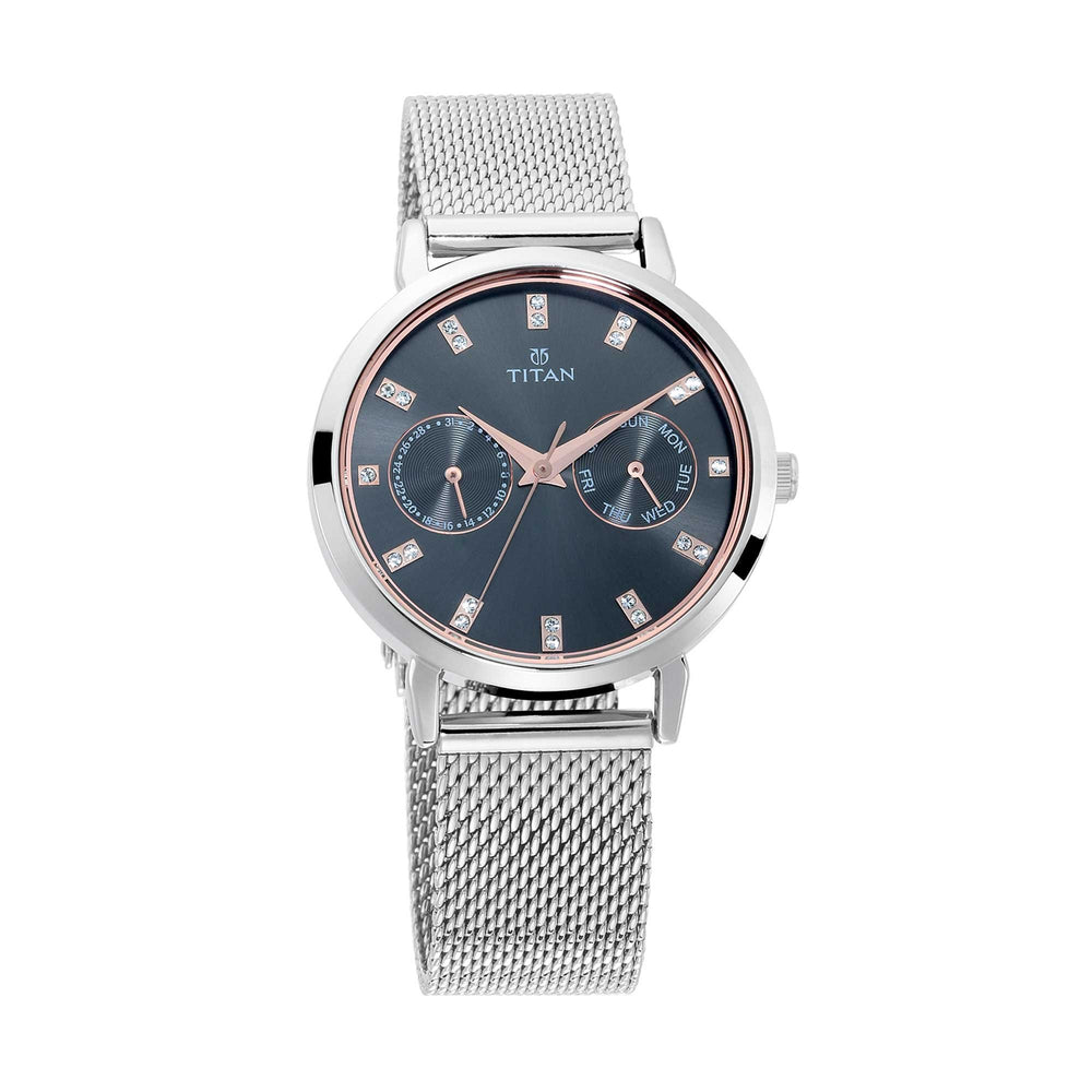 Women Sparkle Multi-Functional Analog Dress Watch - Shade & watches
