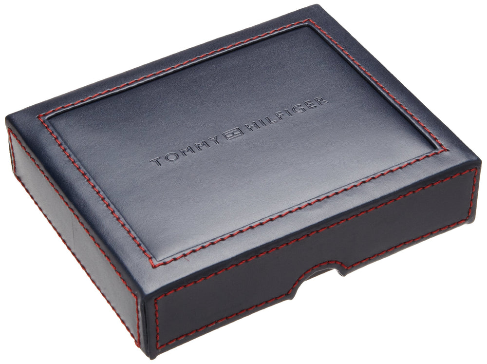 Tommy Hilfiger Men's Trifold Wallet-Sleek Gift - Shade & watches