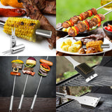 GRILLART BBQ Grill Utensil Tools Set & Gift - Shade & watches