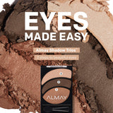 Smoky Eyeshadow Trios, Smoldering Embers, - Shade & watches