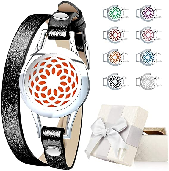 Romanda Essential Oil Diffuser Bracelet Jewelry - Shade & watches