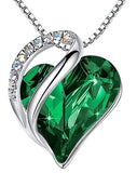 "Leafael""Infinity Love"" Heart Pendant Jewelry Necklace - Shade & watches"
