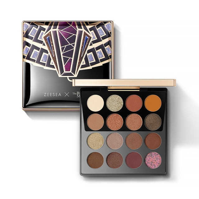 Top Sell-16 Colors Eye-shadow Palette/Shinning Glitter - Shade & watches
