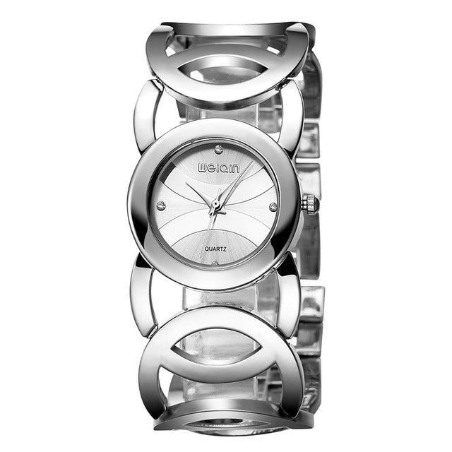 Luxury Crystal Gold Watches for Women - Shade & watches