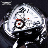 Men's Sport Racing Design Leather Strap Watches - Shade & watches