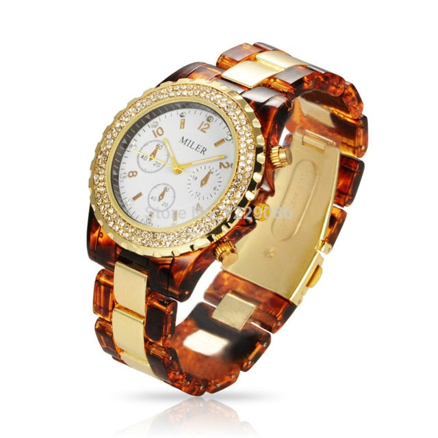 2019- Top Brand Women Rhinestone Wrist Watches - UniSex - Shade & watches