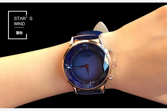 Women Waterproof Genuine Leather Watches