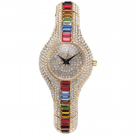Crystal Women Waterproof Quartz Watches - Shade & watches