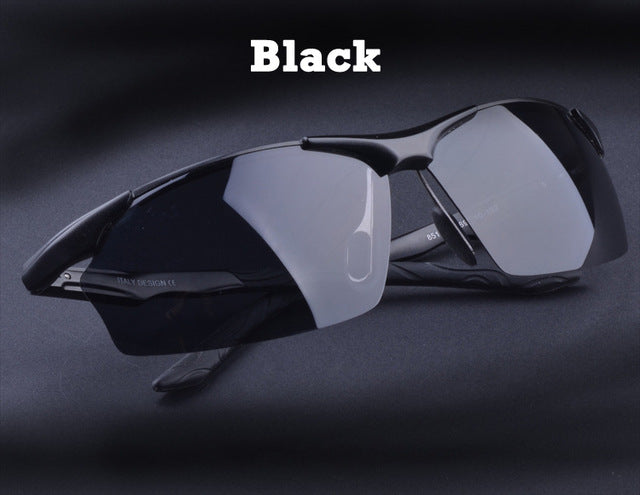Hot Aluminum Men's polarized driving Sunglasses - Shade & watches