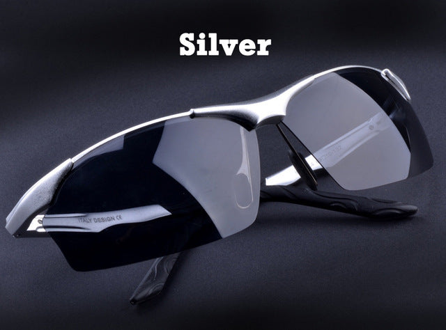 Hot Aluminum Men's polarized driving Sunglasses