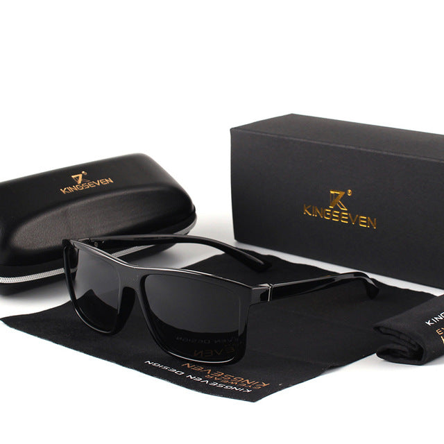 Men's Vintage Style Sunglasses - UV400 - Shade & watches