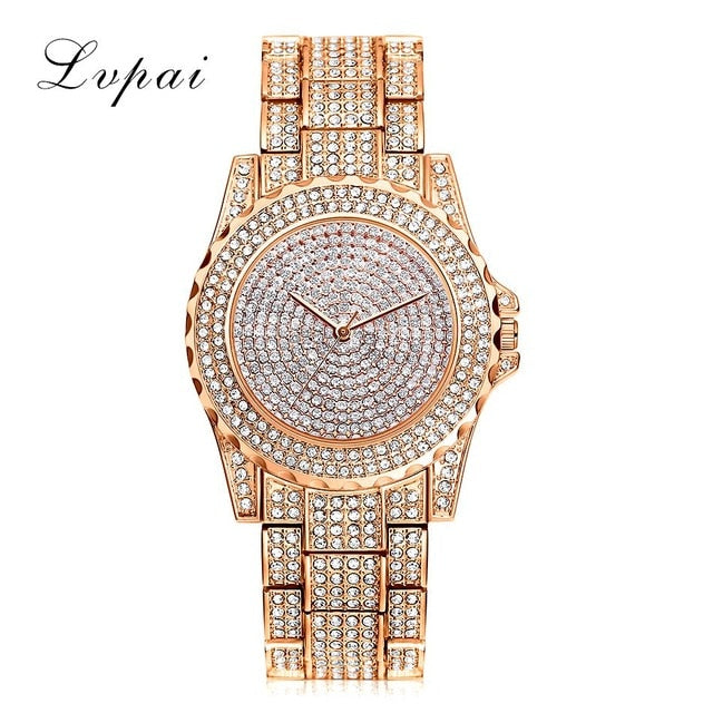 Top Brand Silver Luxury Women Watches
