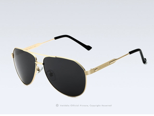 Polarized Mirror Lens Sunglasses for Men's
