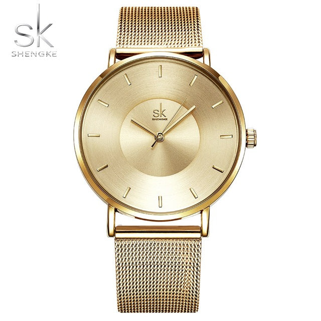 High Quality Ultra thin Quartz Women Watches - Shade & watches