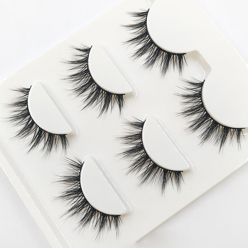 New Ball Smoke Makeup Eyelashes - Shade & watches