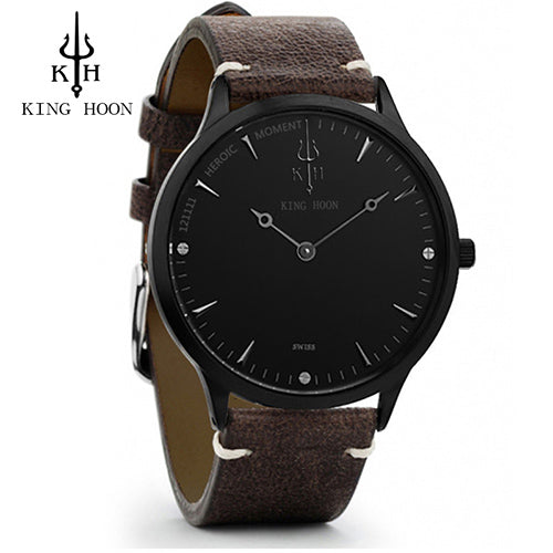 New Ultra Thin Stainless Steel Men's Watches - Shade & watches