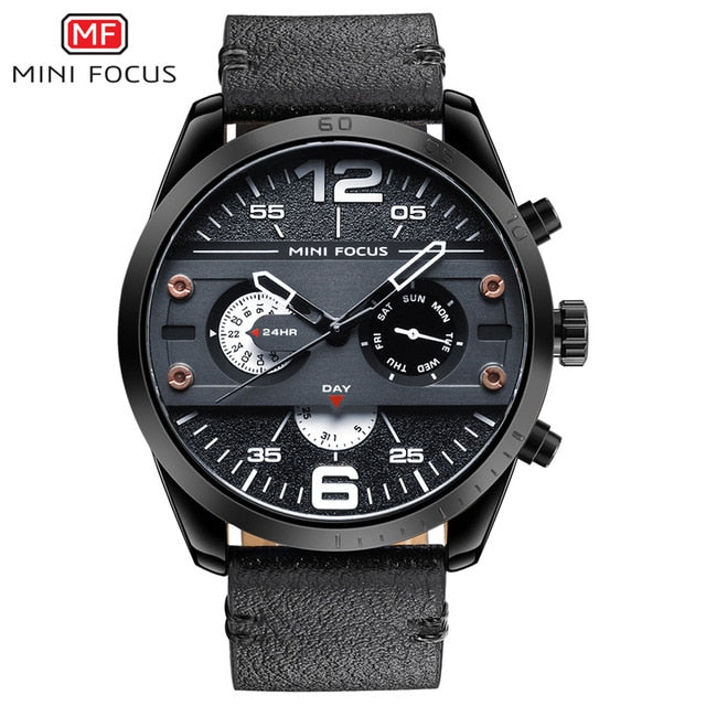 Sport Chronograph Quartz Watches for Men's