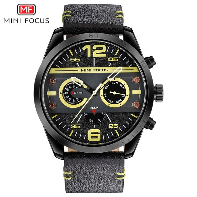Sport Chronograph Quartz Watches for Men's - Shade & watches