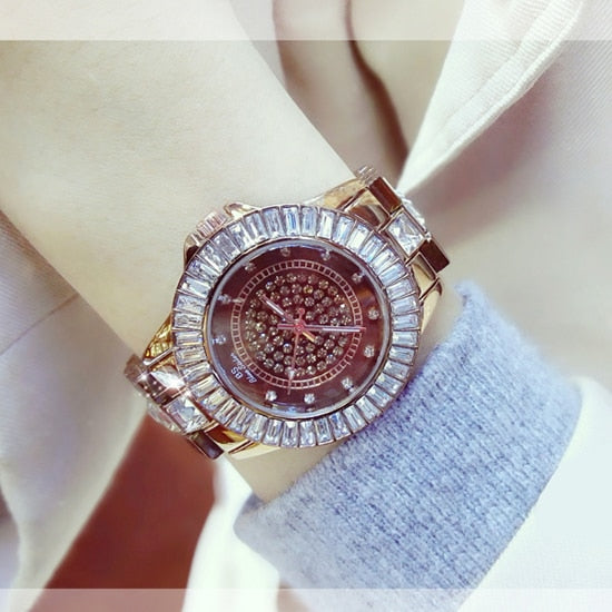 Women Watches & Bracelet Stainless Steel - Shade & watches