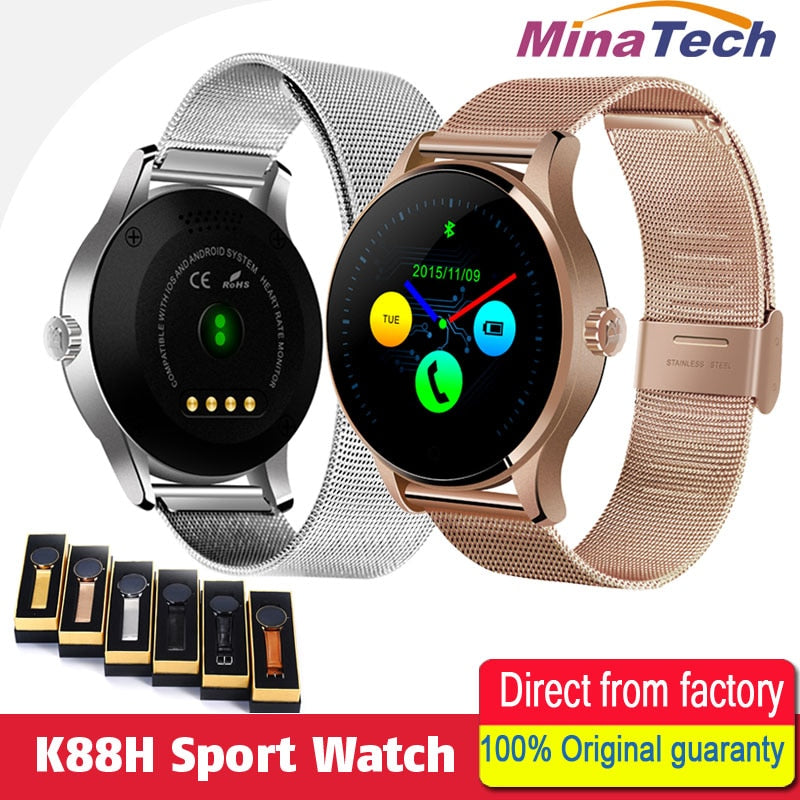 Smart Watches 1.22 Inch IPS Round Screen for Men's