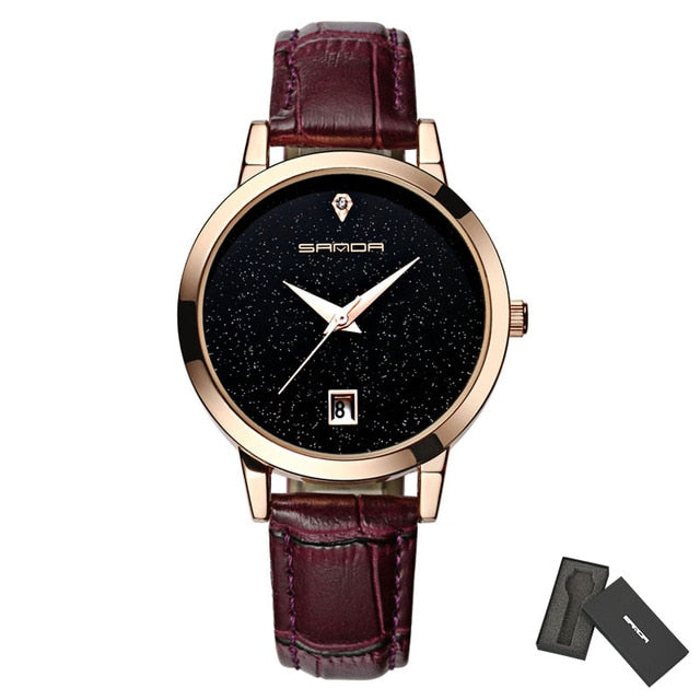 2019- Stylish Star Dial Women Watches