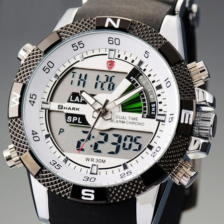 SHARK Sport Men's Watches Digital Stopwatch - Shade & watches