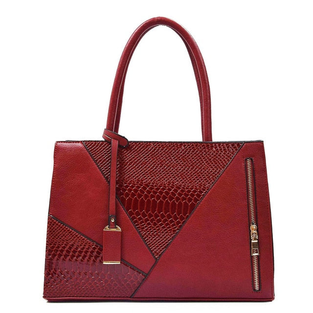 New stylish women handbags pure leather