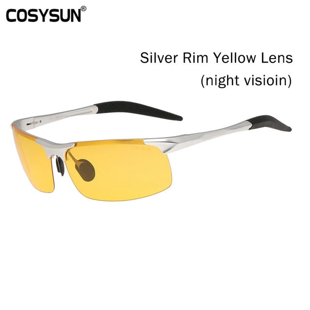 Day & Night Vision Polarized Sunglasses for Men's