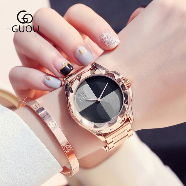 Women Top Luxury Stainless Steel Watches