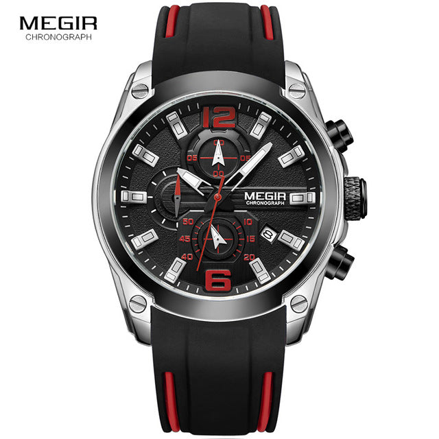 Men's Chronograph Analog Waterproof Watches - Shade & watches