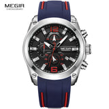 Men's Chronograph Analog Waterproof Watches