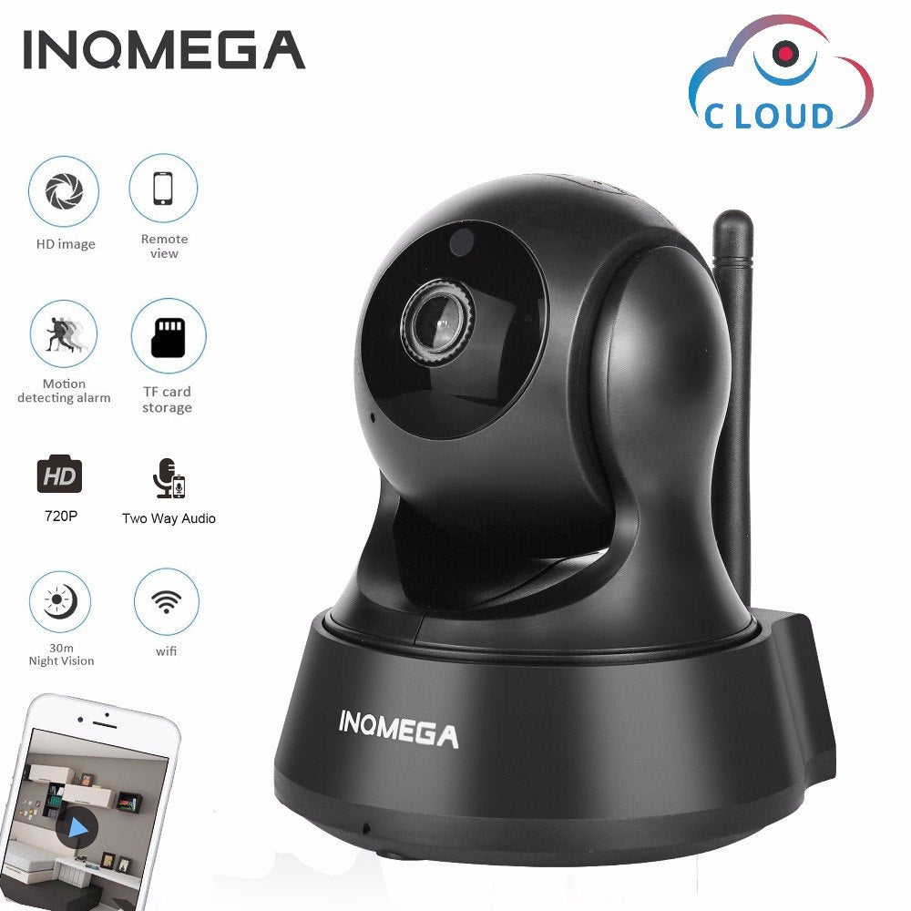720P Cloud Storage IP Camera Wireless Wifi Cam - Shade & watches