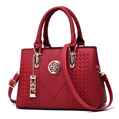 2019- Embroidery Stylish leather Women Handbags -