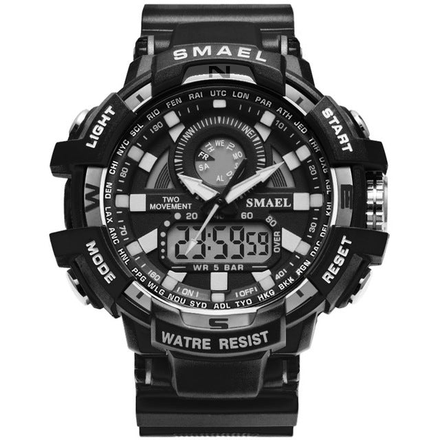Men's Military LED Quartz Clock Sport Watches