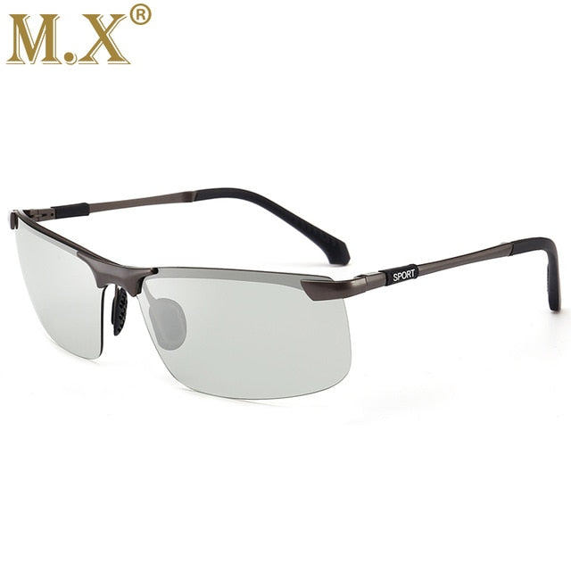 Men's Polarized Chameleon Discoloration Sunglasses - Shade & watches